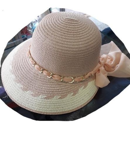 sombrero pava mujer en nailon talla ajustable flexible