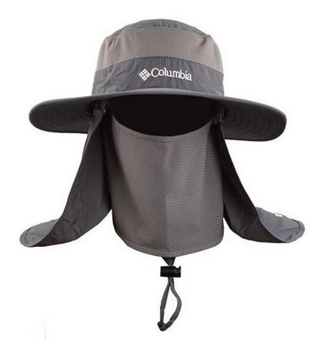 sombrero pesca trekking protege cuello y rostro pescar