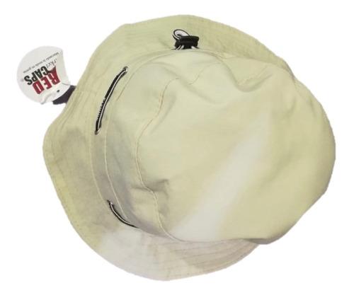 sombrero pescador beige