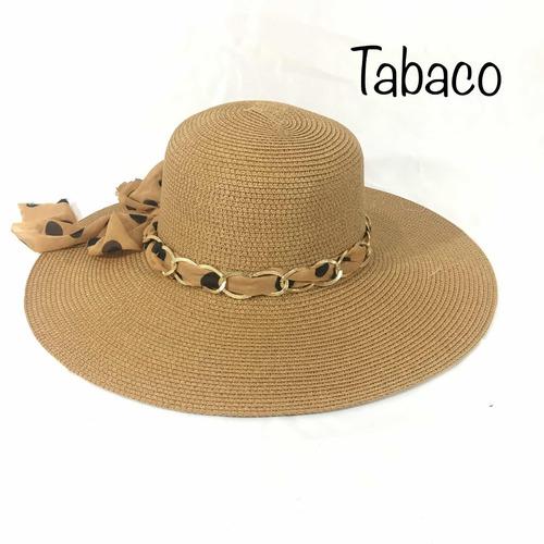 sombrero playa dama mujer
