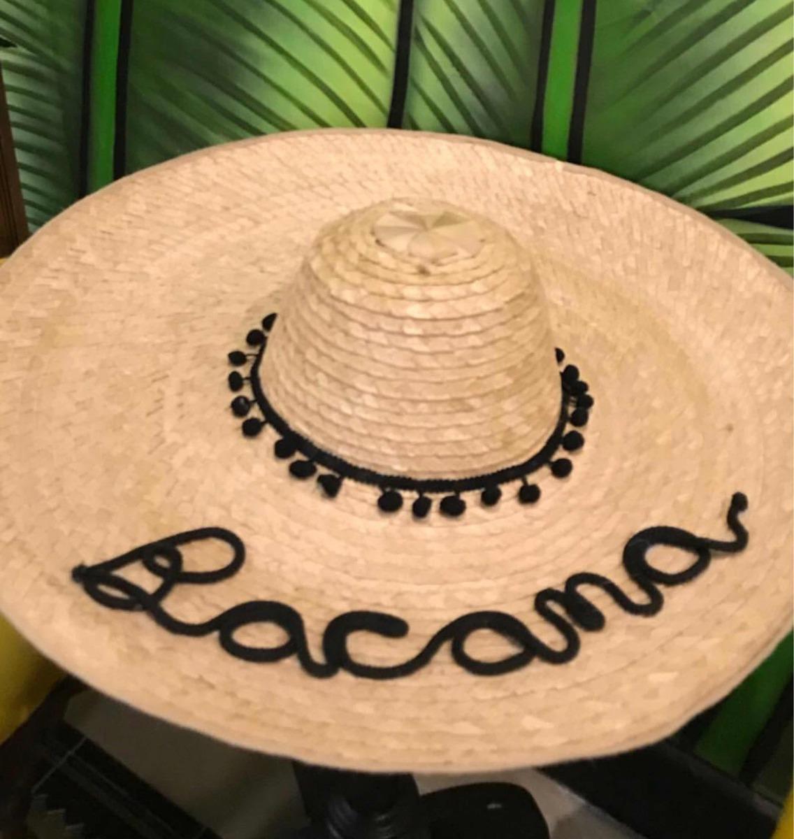 Sombrero Playa Personalizado- Pava -   75.000 en Mercado Libre dc7b6813f06