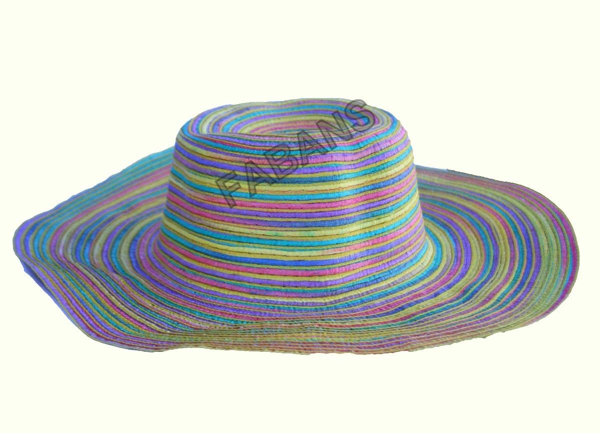 sombrero playero mujer accesorios playa piscina. Cargando zoom. d9d2c77b9d53