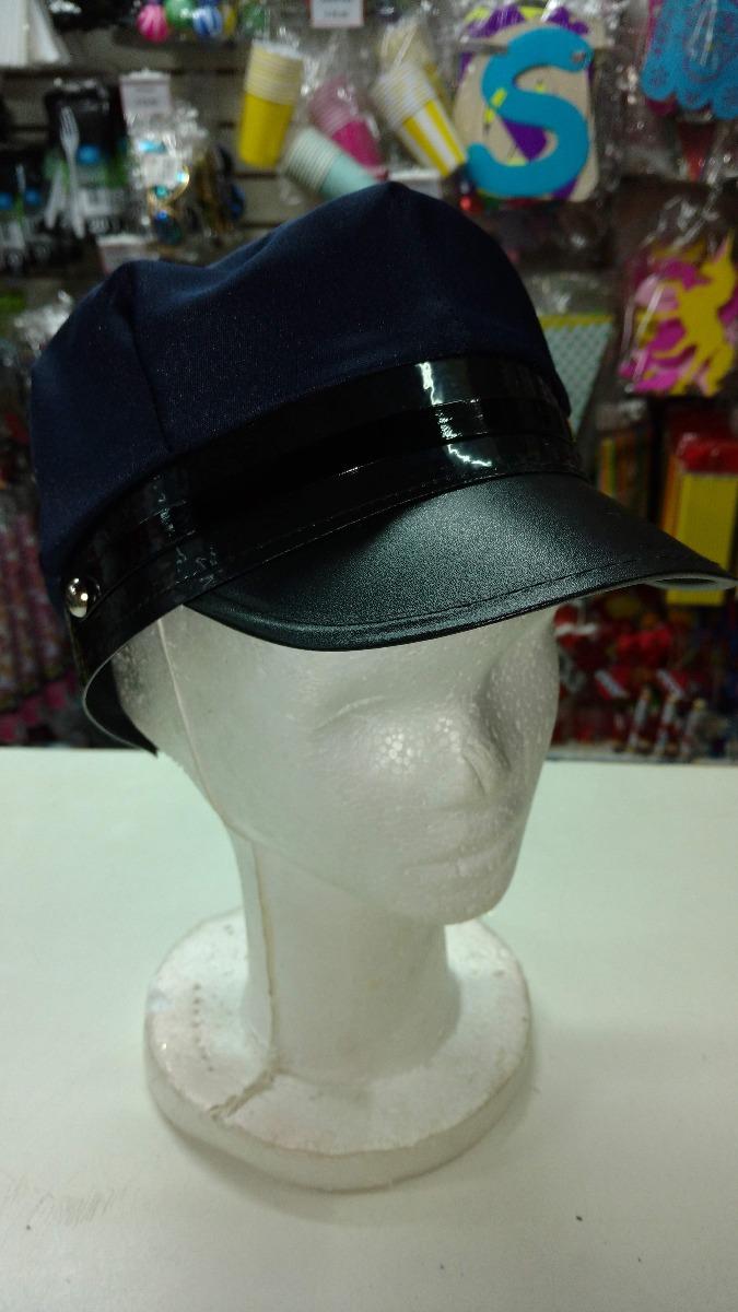 sombrero policia chofer gorro tela disfraz cotillon. Cargando zoom. cc2caa63235