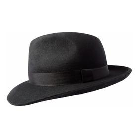 Sombrero Porteñito Fieltro De Lana S001 - Varios Colores