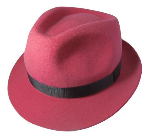 sombrero porteñito fieltro natural