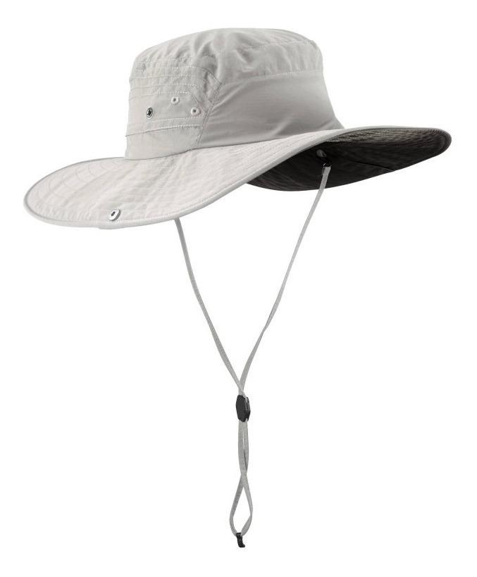 90c1eed9979 sombrero quechua de trekking forclaz trekk 500 anti-uv gris. Cargando zoom.