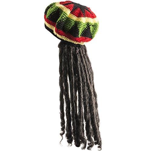 Sombrero Rasta Con Bloqueo De Dreadlock Como Largo Cabell... -   75.643 en  Mercado Libre 88022e785b3