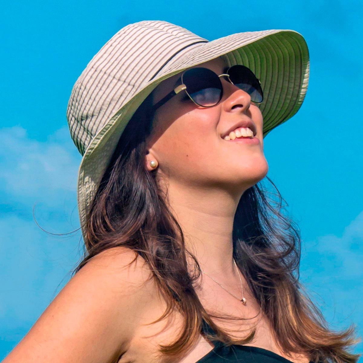 sombrero rousillon protección solar upf 50+ viaje moda playa. Cargando zoom. a9458075ce6