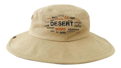 sombrero safari kaki desert 100% algodón ¡envío gratis!