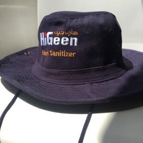 Sombrero Safari Playero Pescador Higeen Azul Marino 2,5