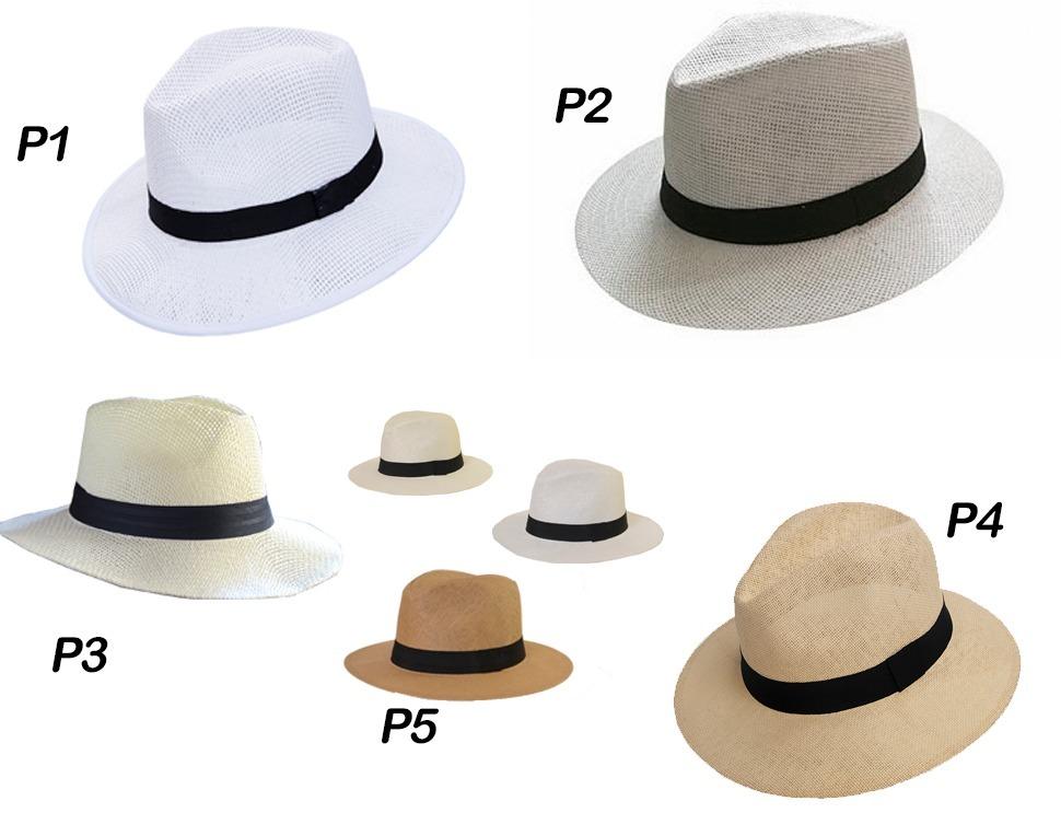 sombrero simil panama modelos varios lisos o con logo. Cargando zoom. c90e6aa5677