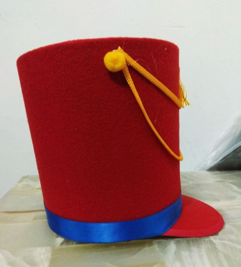 Sombrero Soldadito De Plomo Cascanueces Niño
