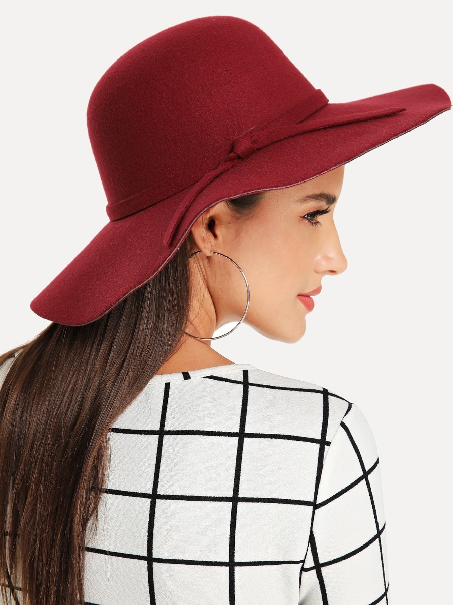Sombrero Dama Sombrero Vino Estilo Floppy Sombrero Mujer -   299.00 ... 74d2cc62cc34