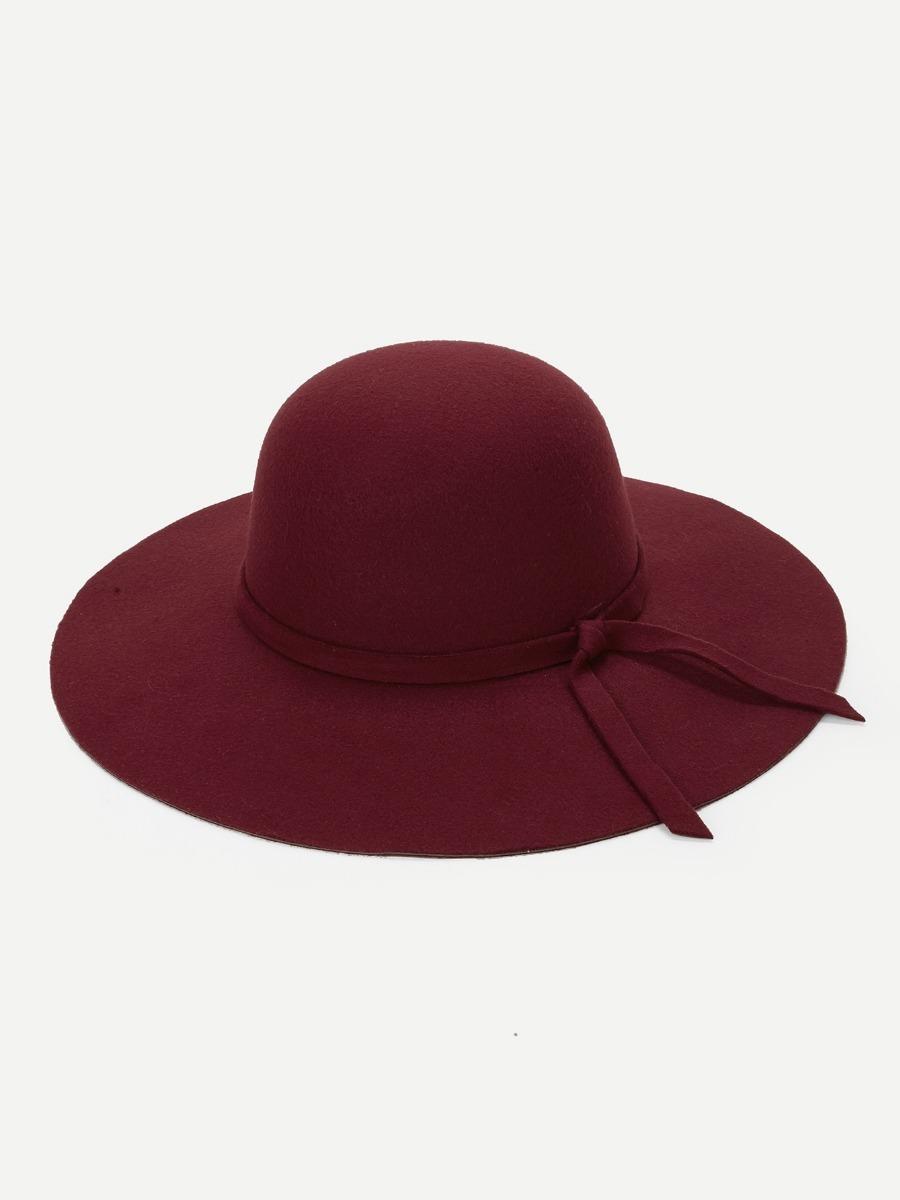 Cargando zoom... sombrero dama sombrero vino estilo floppy sombrero mujer cd86410b1856