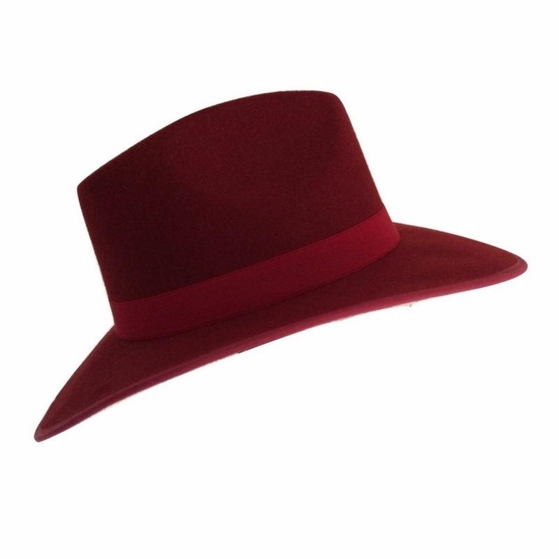 Características. Marca Toppunt  Modelo Fedora Vino  Género Mujer  Tipo de sombrero  Sombrero 73276071d8e8