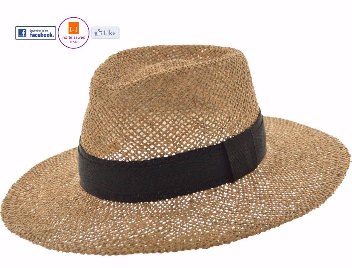 Sombrero Australiano Yute Calado Sombreros Hombre Mujer -   650 4f39f2e1da5