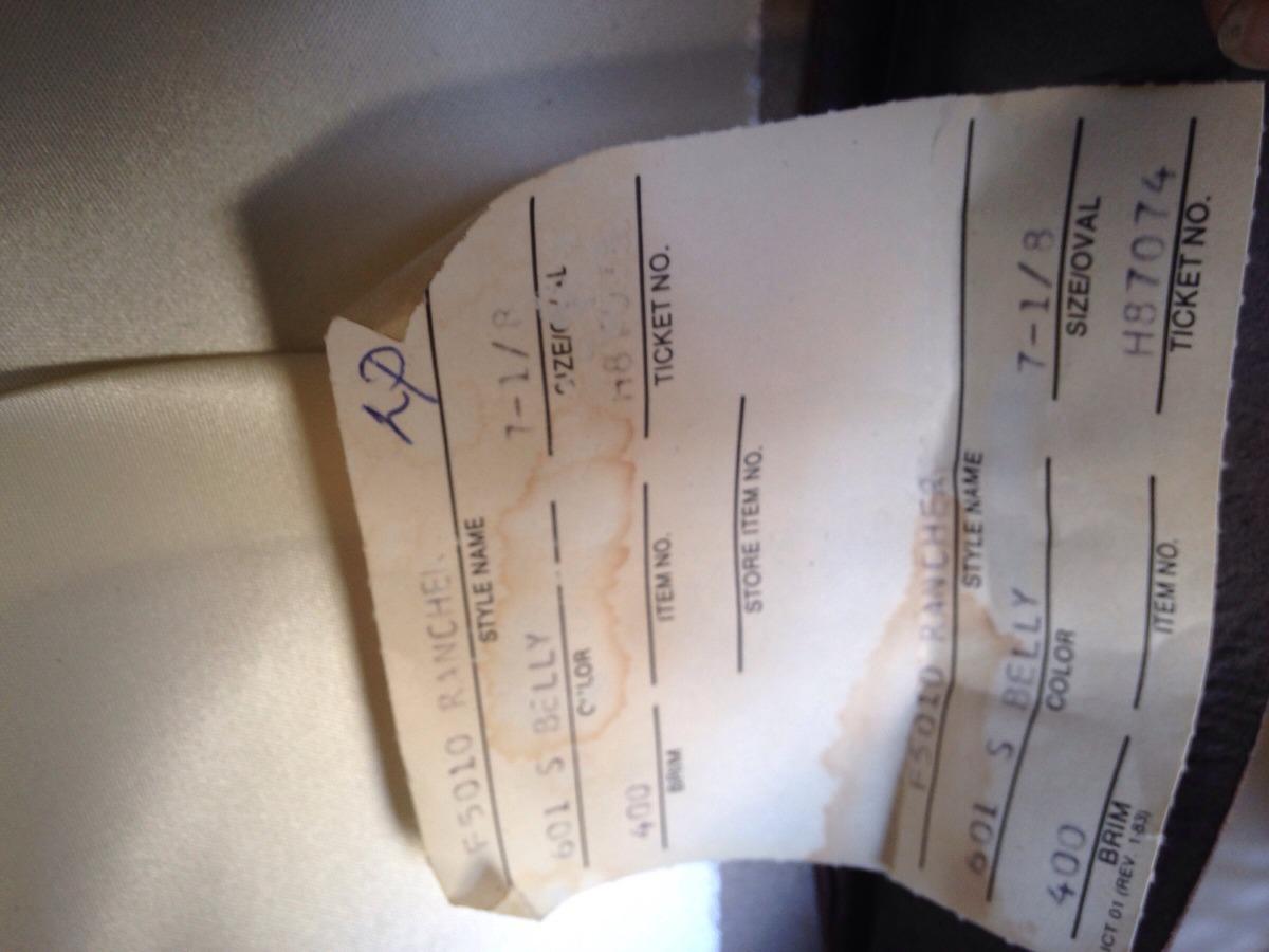 Sombrero Stetson De Pelo Con Registro Americano 7 1 8 -   7 ebf2708bdaf