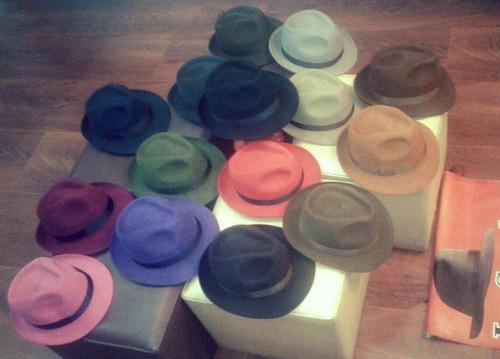 sombrero tango en fieltro natural