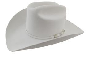 fe52b6544 Sombrero Texana 6 X Marca Stetson Blanco Lana Pelo Conejo