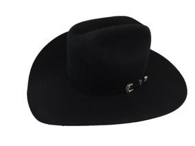 51ae45983 Sombrero Texana 6 X Marca Stetson Negro Lana Pelo Conejo