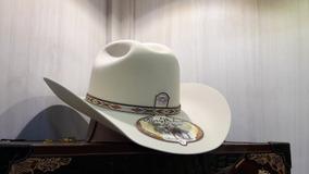144435f8a9306 Sombrero Texana Larry Mahan 5x Pelo De Conejo Tacoma Belly