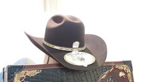 07b0206c1e593 Sombrero Texana Larry Mahan 5x Pelo De Conejo Tacoma Cafe