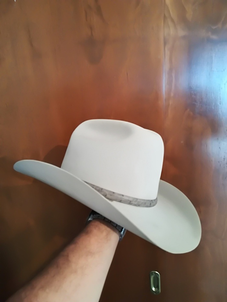 Sombrero Texana Stetson 100x El Presidente Medida 7 1 8 -   7 8eb2ac441ac