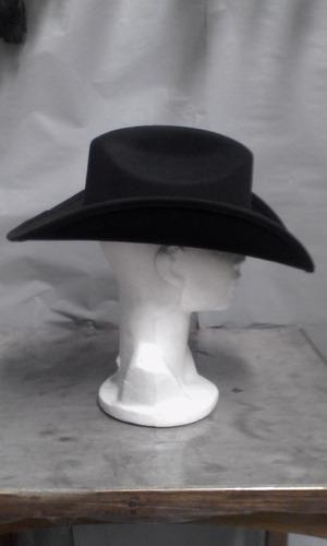 sombrero texano color negro durango unisex envío gratis