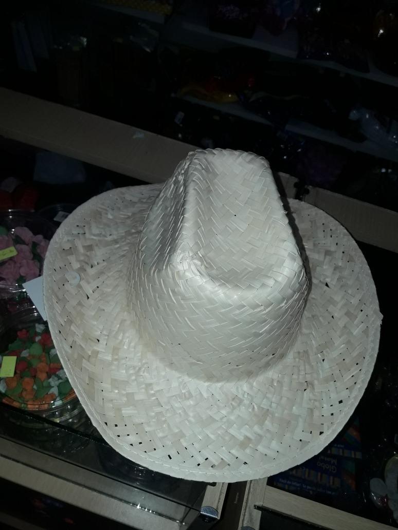Sombrero Tipo Mimbre . Para Disfraz De Jardinero 1e7094d80eb0