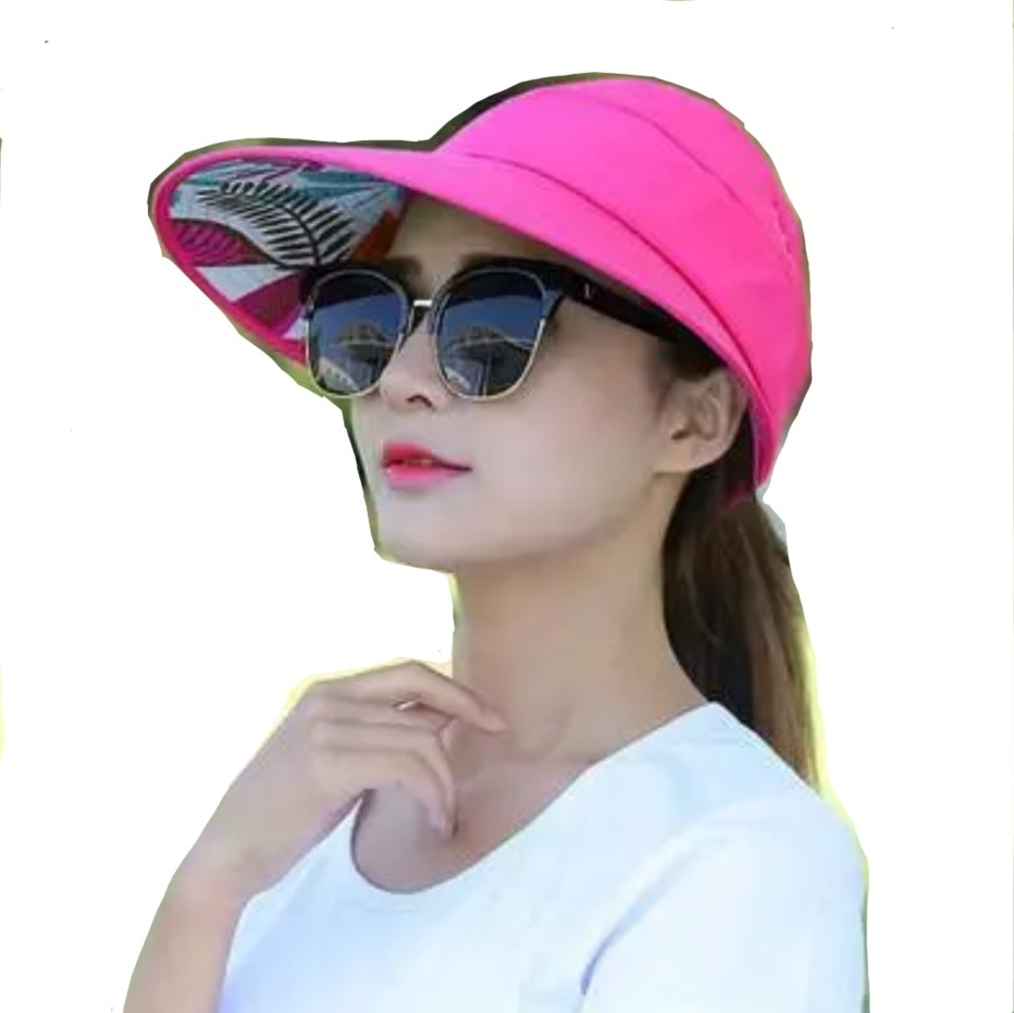 b5b7a89ad0c9 Sombrero Tipo Visera Protector Solar Anti Rayos Uv