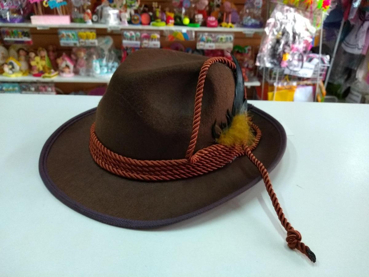 sombrero tiroles aleman gorro tela premium disfraz cotillon. Cargando zoom. 3e366a94f1d