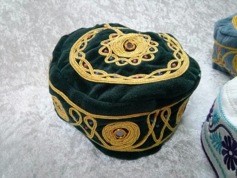 elige el más nuevo servicio duradero comprar Sombrero Turco Marroquí Bordado O Con Espejos