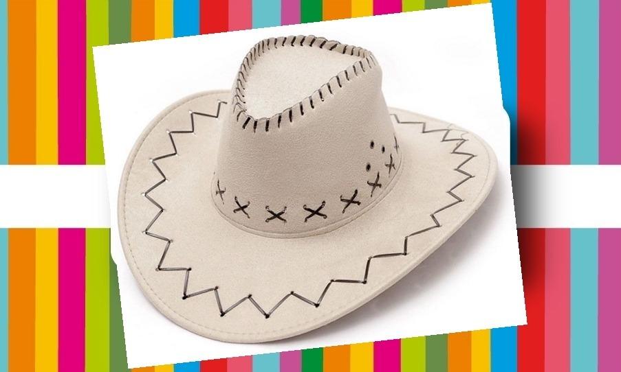 Características. Marca Zonacotillón  Modelo Sombrero Vaquero Blanco ... 6fe014f134e