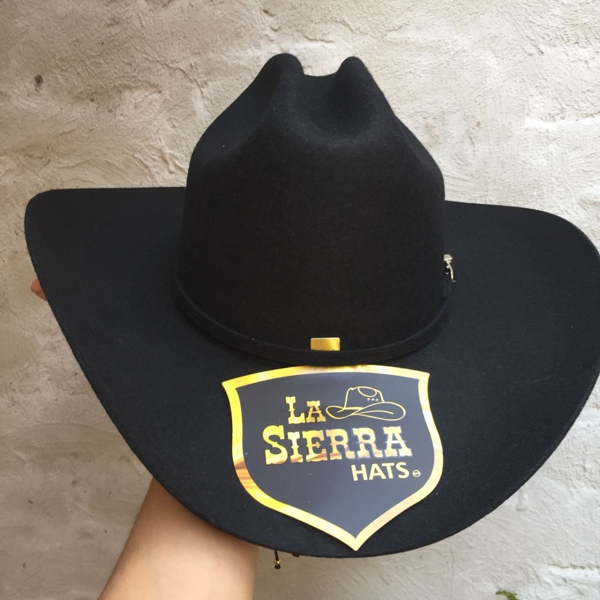 sombrero vaquero de hombre fieltro negro horma americano. Cargando zoom. 8e3b72714d5
