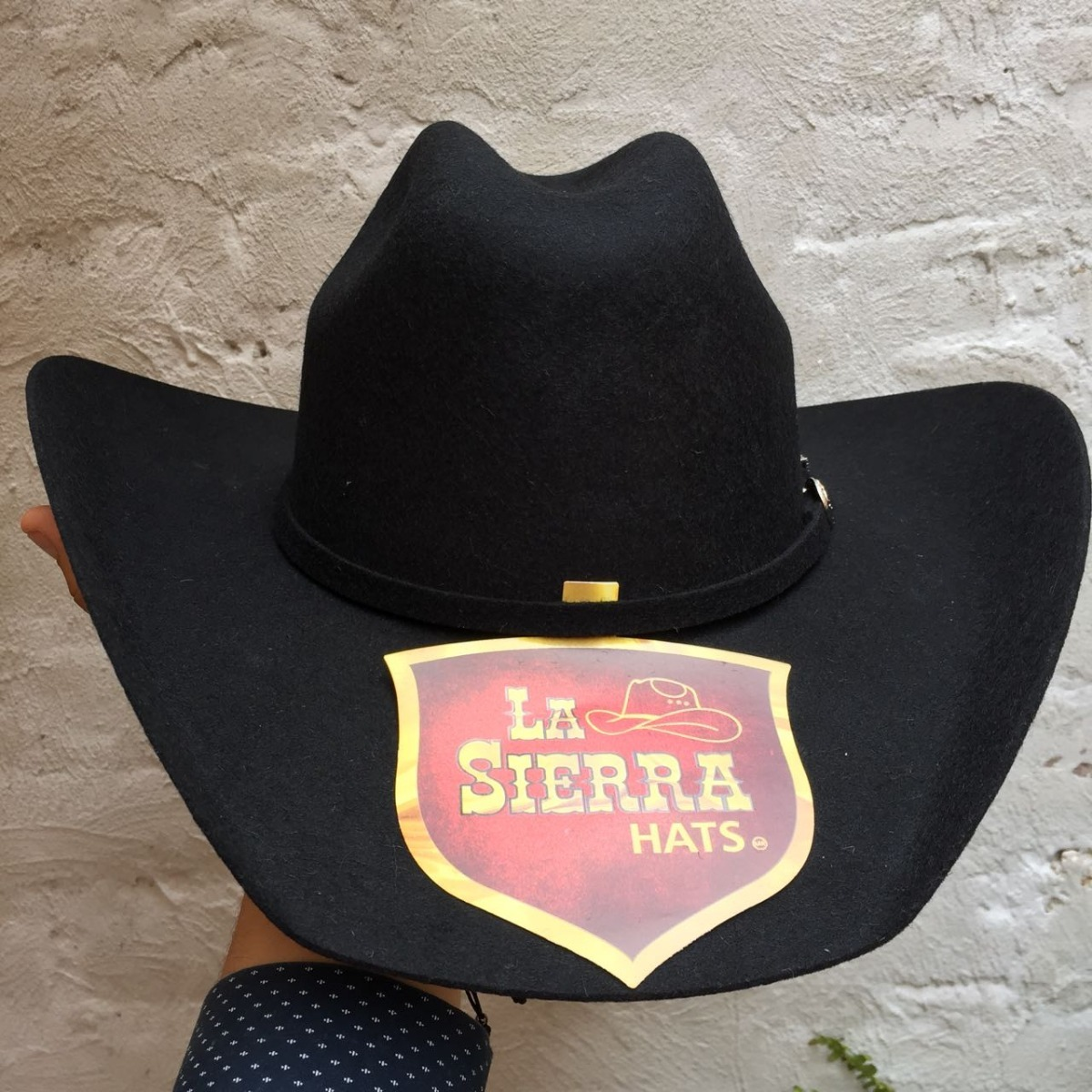 sombrero vaquero fieltro negro horma lupillo envio gratis. Cargando zoom. 0338ad4b6ff
