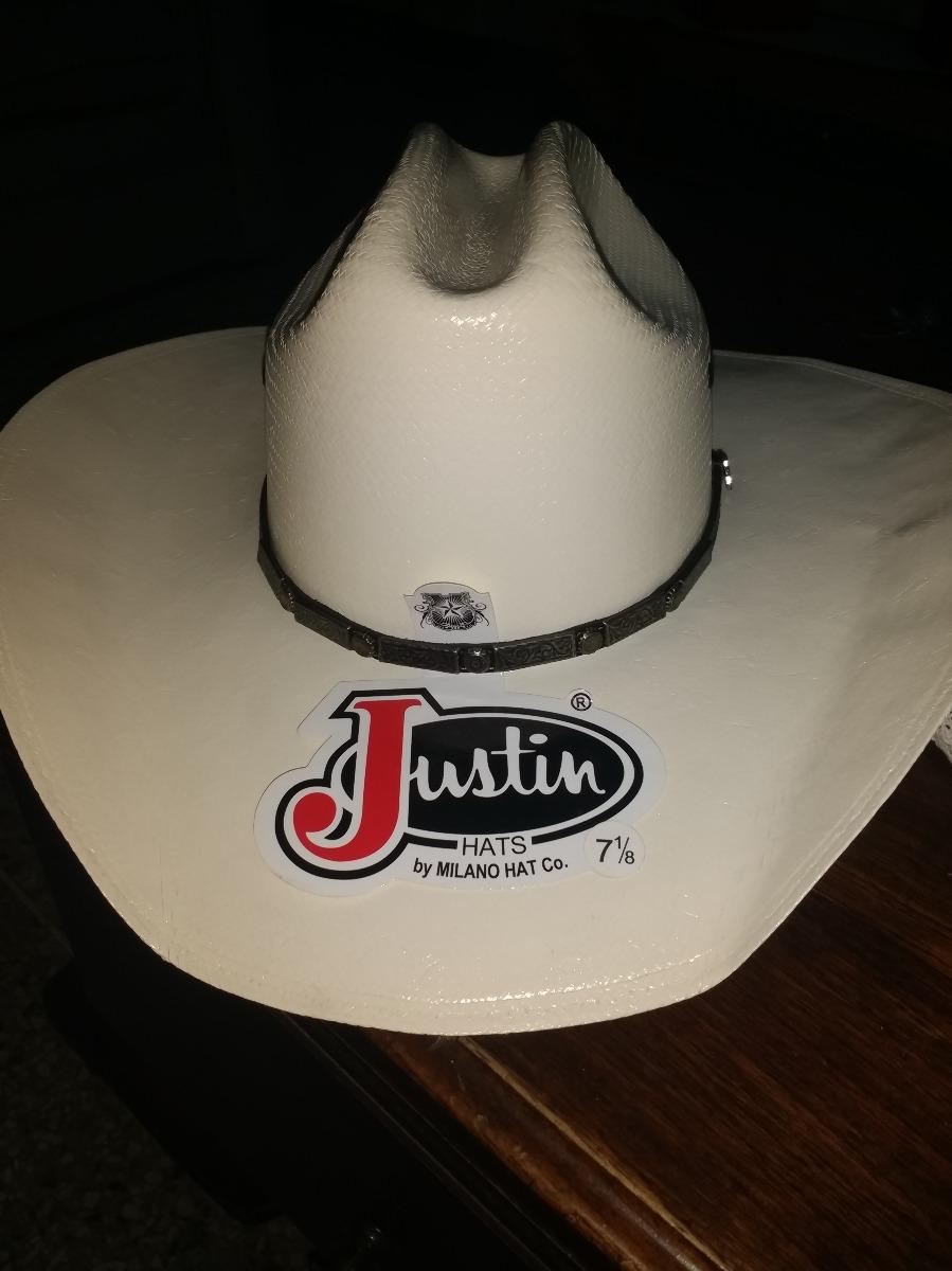 sombrero vaquero marca justin traido de texas 100% original. Cargando zoom. dfc54d59ee0
