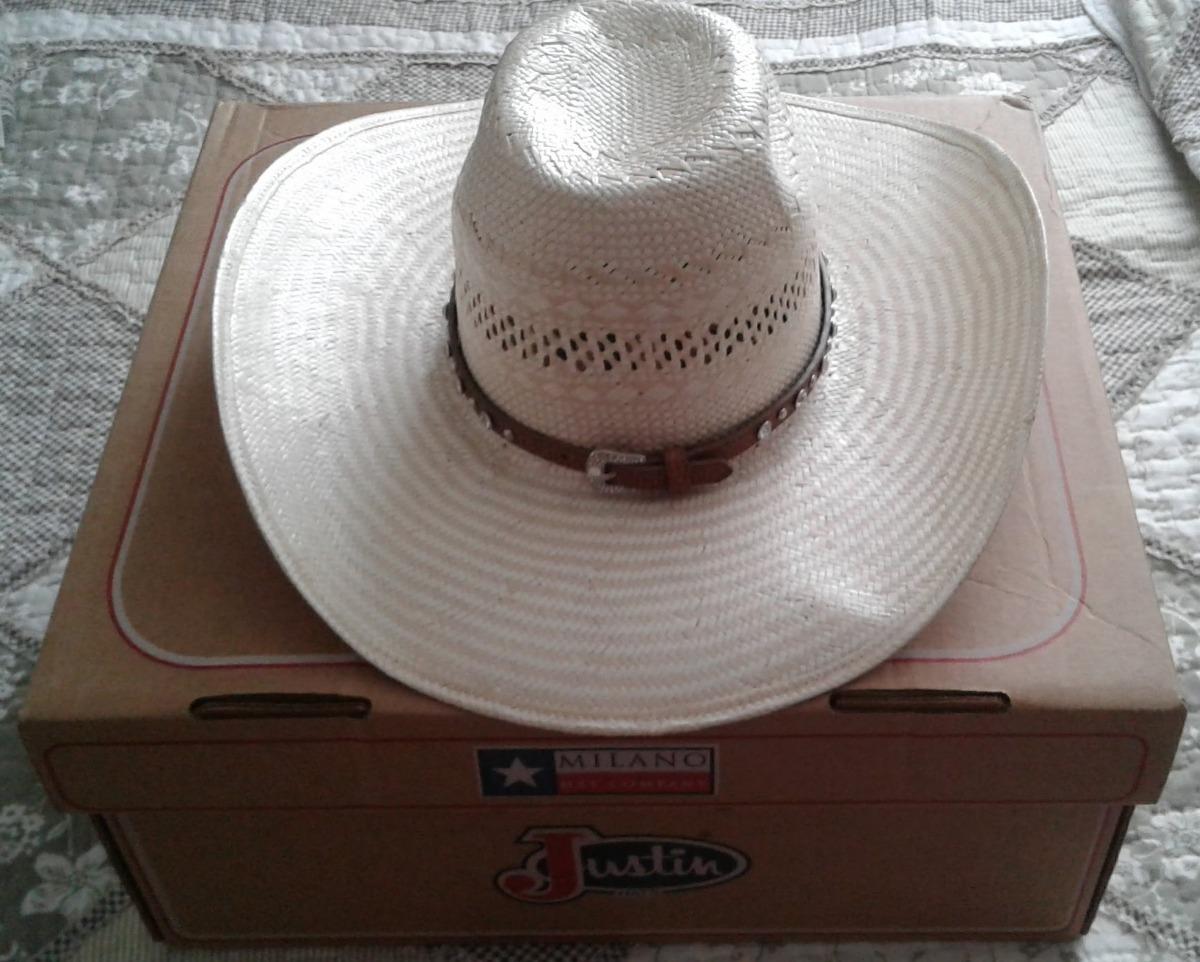 Sombrero Vaquero Para Dama Nuevo Texano Original Talla 7-1 4 ... 1273d33bc4b