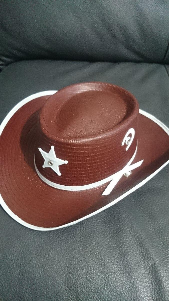 sombrero vaquero sheriff niño disfraz vaquerito fiesta niño. Cargando zoom. 08b0583127e