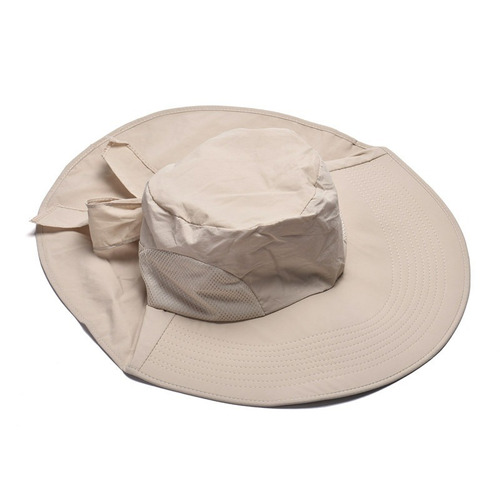 sombrero visera ancha protector del sol rostro cuello upf