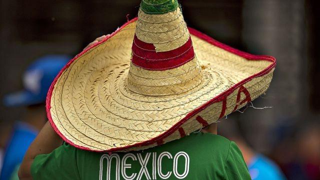 bb6b70aae3de1 Sombrero Viva Mexico Zapata Fiestas Patrias Mexicana Mundial ...
