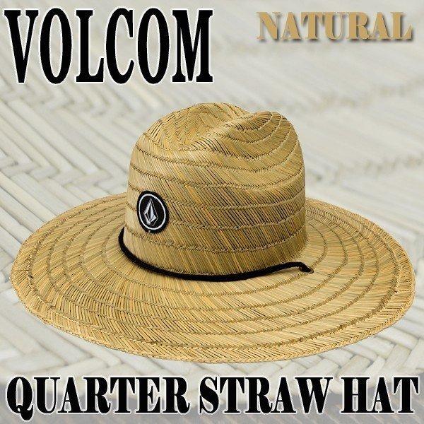 ac58c2be4 Sombrero Volcom, Mod. Quarter Straw Hat, Color Nat.