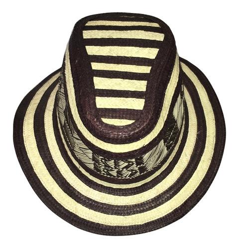 sombrero vueltiao 15 vueltas original  corto checo