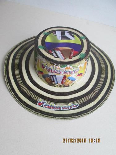 sombrero vueltiao carton hora loca vaquero pitos publicidad