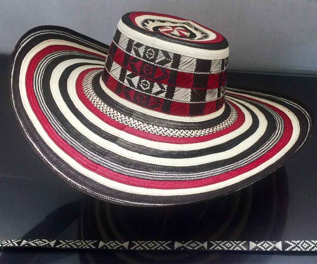 sombrero vueltiao colombiano 19 vuelta rojo y cinto diseño 2. Cargando zoom. abc4bf60699