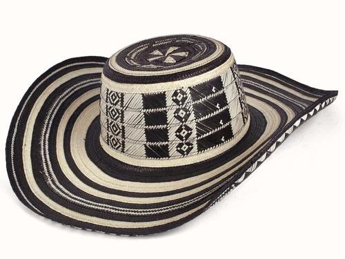 sombrero vueltiao de 19 vueltas 100% original suave