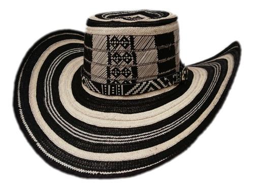 sombrero vueltiao tradicional  sin pega tejido parejo