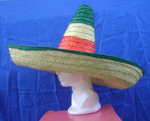 sombrero zapata, fiestas patrias, varias medidas