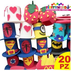 82316650d0767 Sombreros De Hule Espuma Para Bodas Baratos 20 Piezas - Cotillón en ...