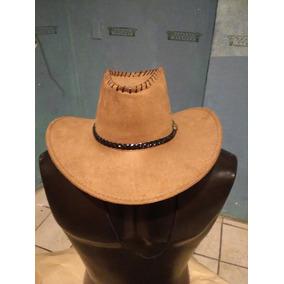 d96f55cc3a4e6 Sombrero Tipo Cowboy Ranger Americano Gamuza