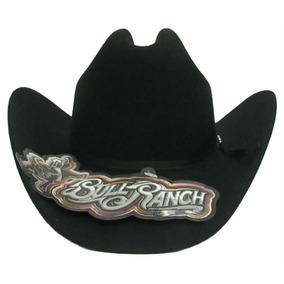 2ebac338cb899 Sombrero Texana Bull Ranch Durango Niño Negra 100% Lana.